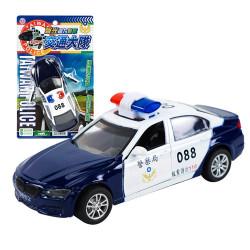 聲光合金台灣110警車(授權)(ST)