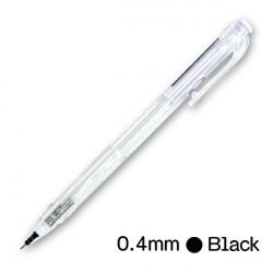 極速0.4好寫好握中油筆(黑色)(按壓式WX1)  1/50/7