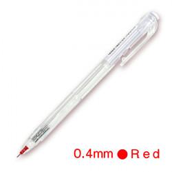 極速0.4好寫好握中油筆(紅色)(按壓式WX1)  1/50/7