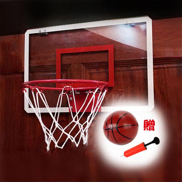 高級透明壓克力籃球板(鐵框)(家裡辦公室舒壓投籃)