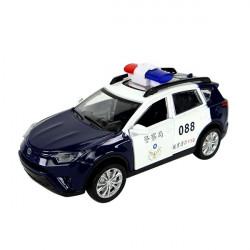 1:32 合金SUV休旅台灣警車車模型(聲光迴力車門可開)(ST)