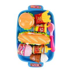 7入薯條漢堡套餐切切樂(潛艇堡版)(ST安全漆)(903D)