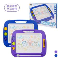 8269高級彩色磁性畫板(大版)(擦寫流暢)(45度腳架)
