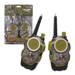 兒童軍事無線對講機(有效距離約30公尺)(1組2支附電池)