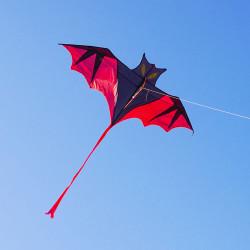 背桿式小蝙蝠造型風箏(160*176)(全配/附150米輪盤線)