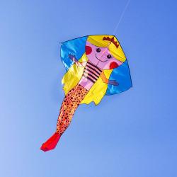 超大美人魚公主造型風箏(362*236)(全配/附150米輪盤線)