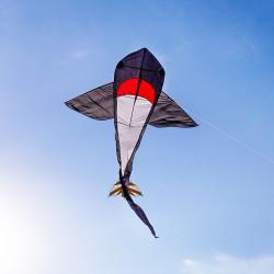 黑色大鯊魚造型風箏(180*361)(全配/附150米輪盤線)