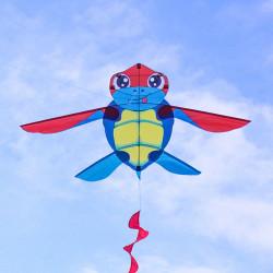 海龜造型彩色風箏(149*223)(全配/附150米輪盤線)